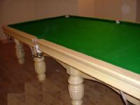 Full Size Snooker Table in Willow Wood